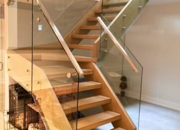 00114 Indoor Glass Railings-royalinnovation.ca