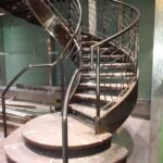 00236 Indoor Spiral Staircase