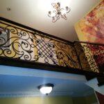 00265 Indoor Wrought Iron Railings 1
