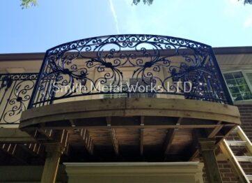 00677 Outdoor Balcony Railings