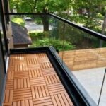 00742 Outdoor Glass Railings cost-SmithMetalWorks.ca
