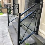 00747 Outdoor Glass Railings design-SmithMetalWorks.ca