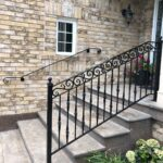 00800 Outdoor Handrails for stairs-SmithMetalWorks.ca